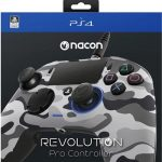 ps4 nacon pro camo gray new