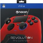 ps4 nacon pro red new