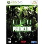 XBOX 360 aliens predators