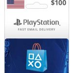 psn usa $100 wallet