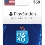 psn usa $50 wallet new