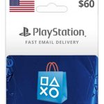 psn usa $60 wallet new