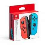 switch Joy-Con blue and red