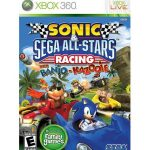 xbox 360 sonic and sega all stars racing wirh banjo-kazooie