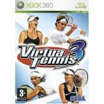 xbox 360 virtual tennis 3 GAME