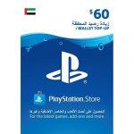 psn wallet top up 60 dollars uae