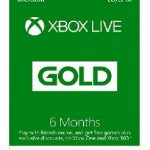6 MONTHS XBOX LIVE