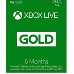 xbox live 6months USA 3